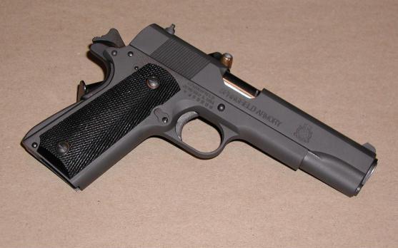 Springfield's 'Mil-Spec' 1911A1   The Sixgun Journal
